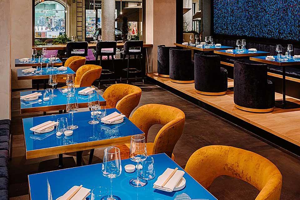 открыть суши бар под ключ, дизайн японского ресторана